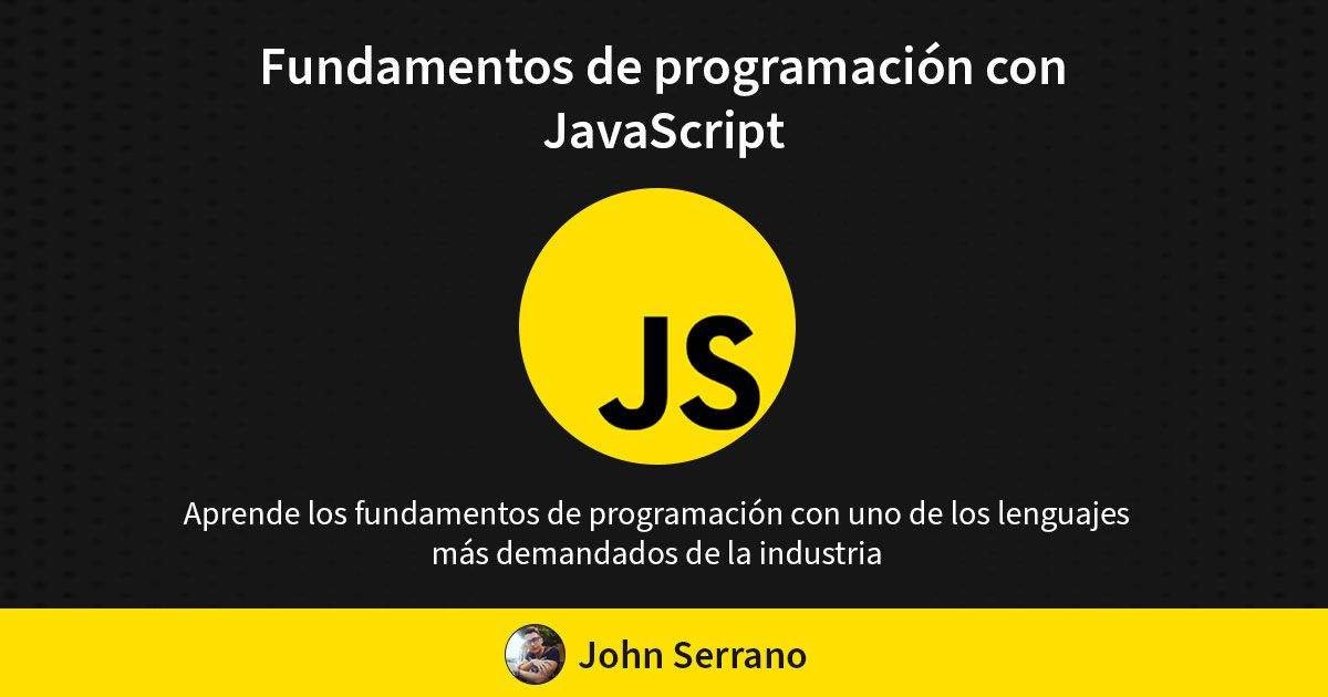 Fundamentos de Programación con JavaScript mi primer Ebook